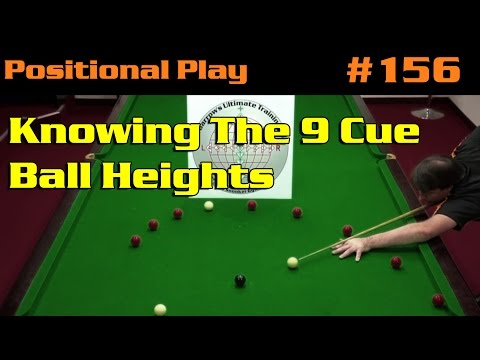 Positional Play | AimFrame Bonus Video 11: Knowing The 9 Cue Ball Heights