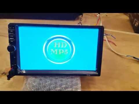 Магнитола MP5 (функции и звук)