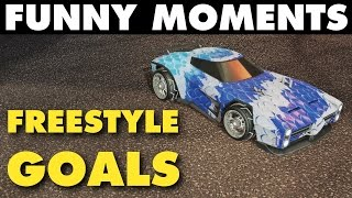 Rocket League | Funny Moments & Freestyle Goals!