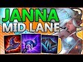 WTF?! FULL AP JANNA DOES HOW MUCH DAMAGE!?! - Janna Mid Gameplay - Patch 8.11