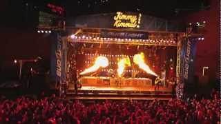 Rammstein - Feuer Frei (Jimmy Kimmel Live 19-05-2011), Hollywood, USA [HD]