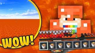 JAK PRZEŻYĆ W ŚWIECIE Z LAWY? - Minecraft Challenge