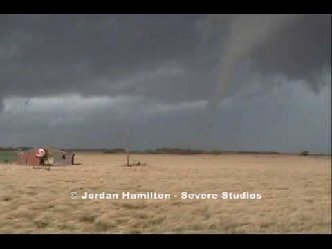 Tornadoes near Roll, Roger Mills County, OK on April 26, 2009