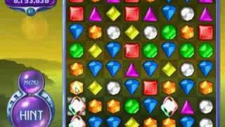 Bejeweled 2 Deluxe - 8 Gems Aligned