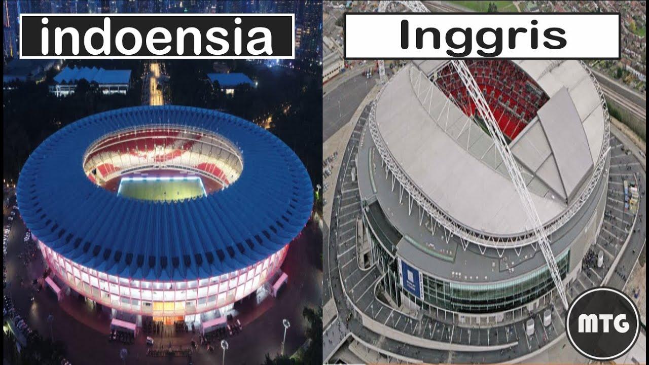 Nggak Kalah Sama Luar Negeri ! Stadion Termegah dan Termewah di Indonesia