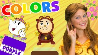 Learn Colors With Belle | WigglePop