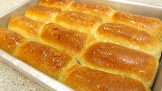 Pão Doce Fofinho com Creme