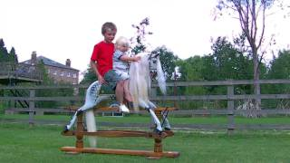 **new** Children Riding Rocking Horses From Http://www.rockinghorse.co.uk.mov