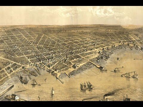 Muskegon Michigan History And Cartography (1868)
