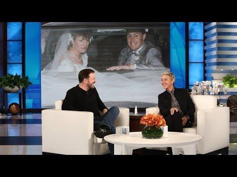 Ricky Gervais Plays 'O Caption, My Caption'