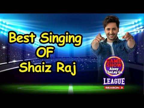 Download Shaiz Raj Best Singing In Game Show Aisay Chalay Ga League Season 3   Danish Taimoor Show