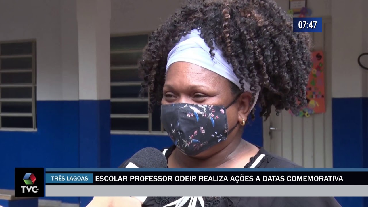 Escola professor Odeir realiza ações a datas comemorativas