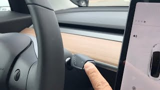 What if you press 'park' while driving a tesla model 3