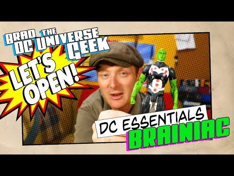 Let's Unbox DC Essentials Brainiac ~ My thoughts on DC Essentials so far Mp3
