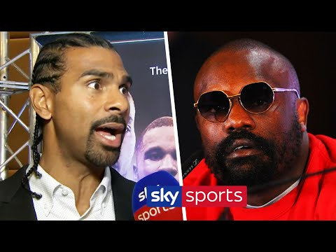 David Haye reacts to Dereck Chisora's angry press conference rant & talks Chisora vs Parker
