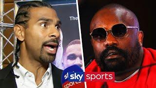 David Haye reacts to Dereck Chisora's angry press conference rant & talks Chisora vs Parker