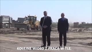 Bronisław Komorowski - skandal podczas otwarcia autostrady!