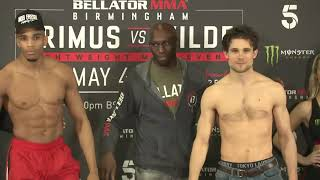 Bellator Birmingham LIVE Weigh Ins