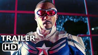 ファルコン&ウィンターソルジャー「キャプテンアメリカ」予告編(2021年)マーベルスーパーヒーローシリーズHD