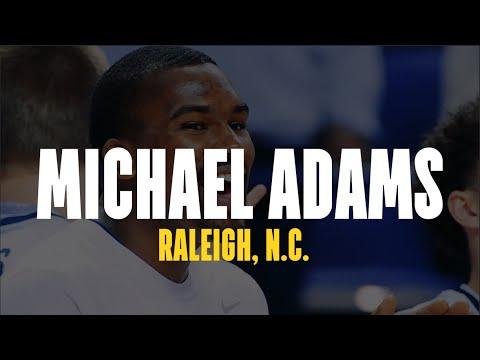 UNCG Basketball Senior Day: Michael Adams