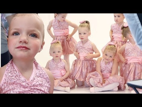 GET READY WITH ME | TODDLER'S ADORABLE FIRST DANCE PICTURES 💃FIRST TIME WEARING MAKEUP PHOTOSHOOT