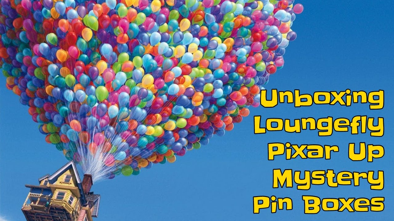 Unboxing LOUNGEFLY PIXAR UP Mystery Pins