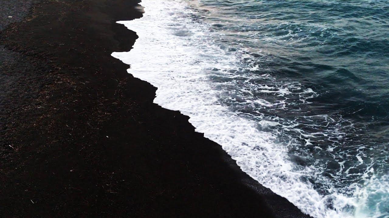 The Beach Is Black Santorini Vlog Iceland Teaser