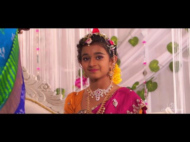 Rithika Chowdary Saree Ceremony Song #Photoexposure