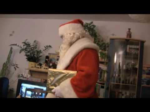 Der echte Weihnachtsmann ist zu uns gekommen!