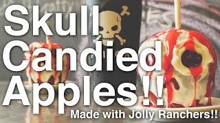 Skull Candied Apples!!