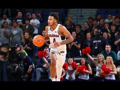UConn Men's Basketball Highlights v. Stony Brook 11/14/2017