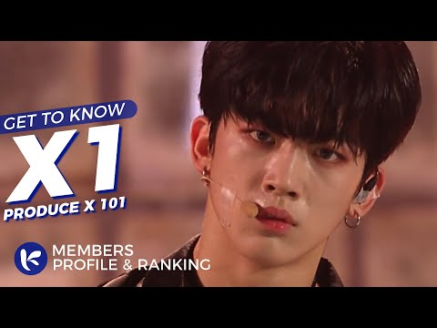 X1 (엑스원) Members Profile & Official Ranking (Birth Names, Positions etc..) [Get To Know K-Pop]