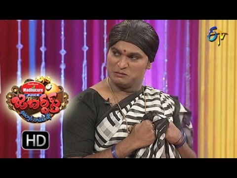 Racha Ravi Performance | Jabardsth | 20th  October 2016 | ETV  Telugu