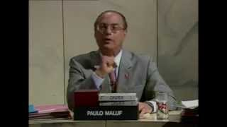 Debate Maluf x Suplicy - Roda Viva - TV Cultura (1992)
