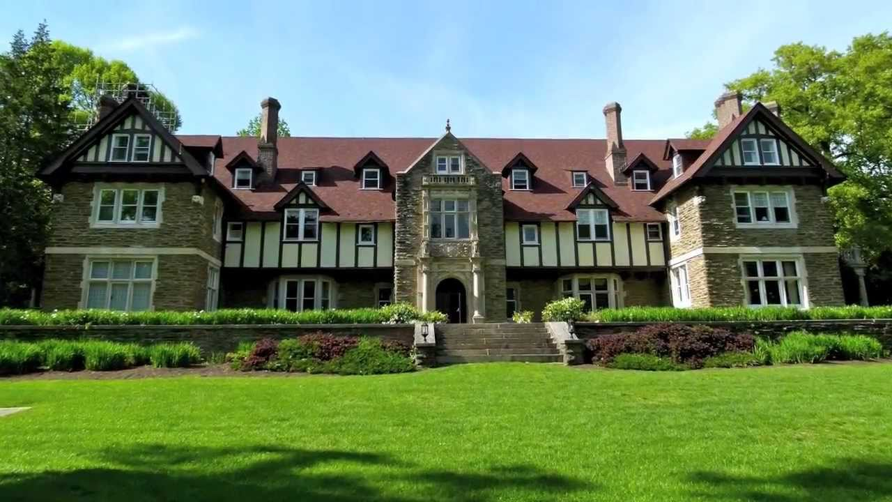 """The Mansion"" at Cabrini College - Woodcrest Mansion - YouTube"