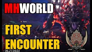 Monster Hunter World►Bazelgeuse First Encounter►Stream Hightlight