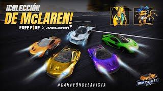 Objetos de colaboración McLaren x Free Fire 🔥 | Garena Free Fire