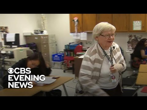 85-year-old teacher hasn't missed a day in 26 years