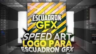 SPEED ART #2 | Logo para Escuadron GFX | FranWIZ