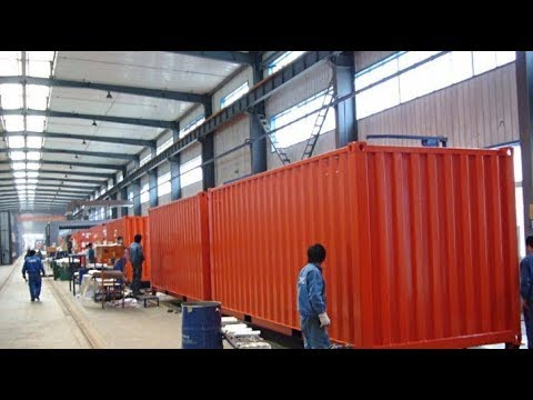 You will be amazed by the Container Factory production. Incredible production.