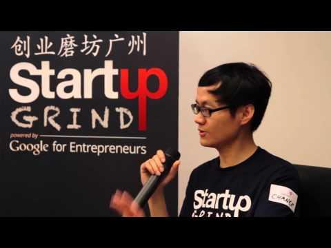 Ciline Xu (Kanchufang.com) at Startup Grind Guangzhou