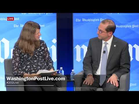 One-on-One with Health and Human Services Secretary Alex Azar