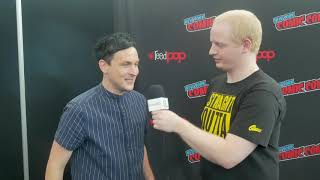 NYCC 2018 That's My Entertainment Interviews Robin Lord Taylor from Gotham