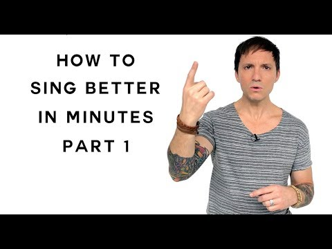 How To Sing – Sing Better In Minutes – Part 1