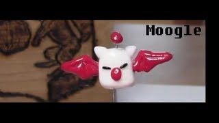 Clay Final Fantasy Moogle / Mog Charm - Tutorial