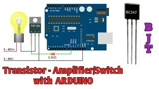 Transistors with Arduino Part 1 BJT's