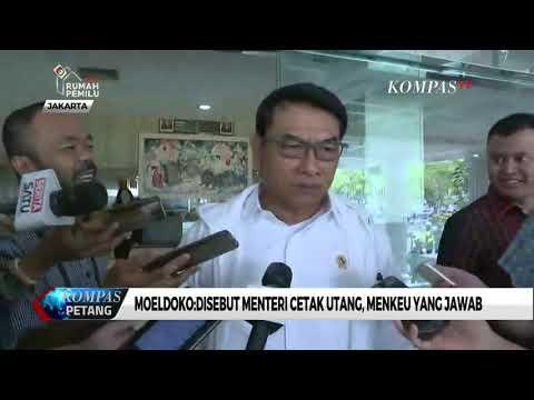 Moeldoko: Disebut Menteri Cetak Utang, Menkeu akan Jawab Sendiri Mp3