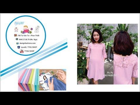 133_thiết kế đầm bầu| dạy cắt may online miễn phí | sewing online class free | tysu shop