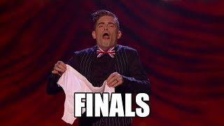 Matt Edwards FUNNY Magic Britain's Got Talent 2017 Finals|GTF