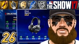 GETTING STARKS NEW EQUIPMENT! - MLB The Show 17 Road to the Show Ep.26